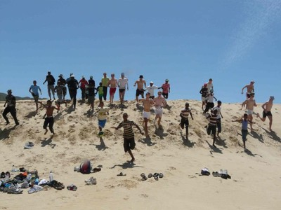 gym in the dunes
