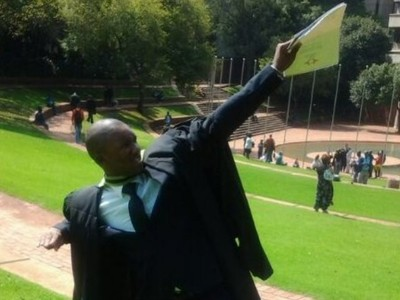 Athi, our first member graduating