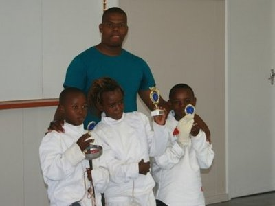 Nemato fencers win trophies