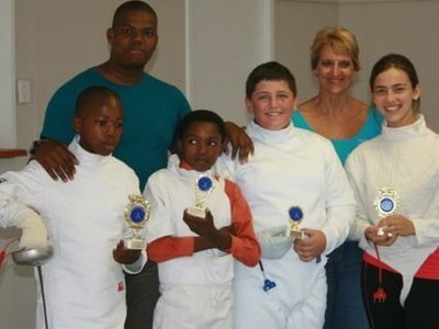 Nemato and Excelsior fencers win trophies