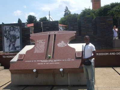 visit to the Hector Peterson Memorial in Soweto