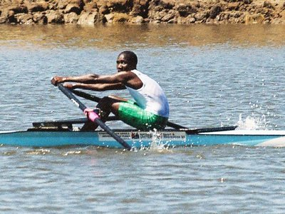 ZRC: Lunga Mcetywa winning 4th junior scull