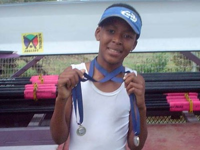 ZRC: Simphiwe Zono winning junior under 15 C scull