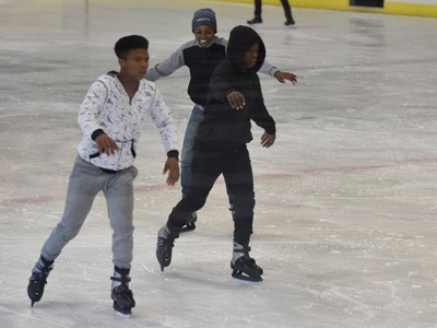 ice skating in PE